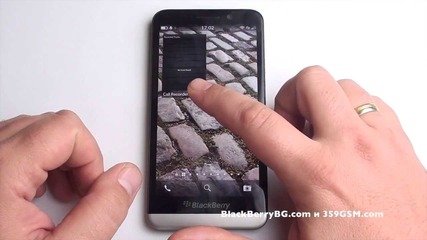 Blackberry Z30 Видео ревю - Hub, Peek & Flow, Universal Search