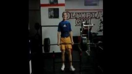Olympia Gym (deathlift 175 kg / 385 lb x3)