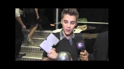 Ema Belfast 2011: Justin Bieber wins Best Pop Artist