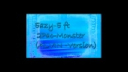 Eazy-e ft 2pac ft Biggie - Monster { Alvin version }