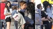 Selena Gomez Kisses Justin Bieber on Boyfriend Music Video Shoot and Talks Perfume