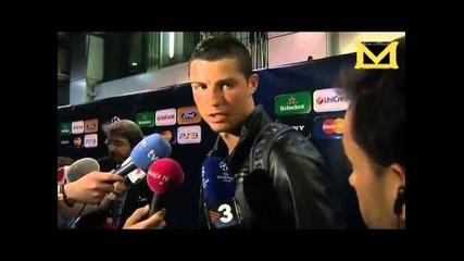 Кристиано Роналдо се оплаква от плъхове (смях)