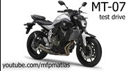 Yamaha Mt-07 / Fz-07 (2014) - Test drive / Wheelies [raw]