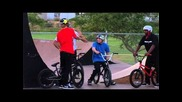 Alli Show - Dennis Enarson - Riding Backyard Ramps and Talking About His Bmx Career