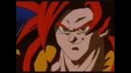 Dbgt ssj4 Gogeta vs Omega Shenron