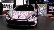 Edag Light Cocoon concept at 2015 Geneva Motor Show