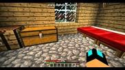 Minecraft оцеляване with Боби и Иво част 8 - обзавеждането