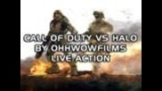 Call of Duty vs Halo Live Action By Ohhwowfilms (machinima)