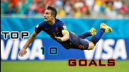 World Cup 2014 - Top 10 Goals Hd