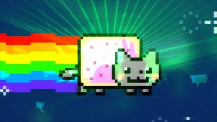 Nyan Cat Rave - lol poptart cat by Ephixa & Going Quantum