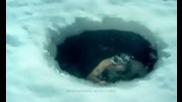 Columbia's Omni-heat Electric Vs. Wim Hof: Ice Hole
