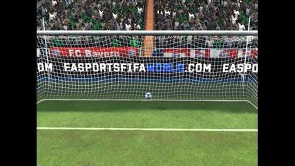 My Best Ever Free Kick in Fifa World !!! Online seasons