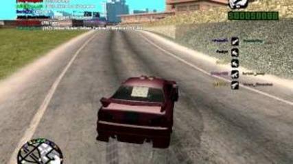 Crazy drift в Gta samp ! ! ! Поздрав за всички ! ! ! + Як Drift bg рап