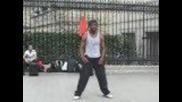 Страхотен уличен танцьор в Париж