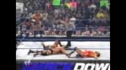 Stone Cold and Triple H vs Kurt Angle and Booker T Part 2