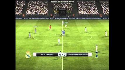 Pes 2012 - Мач - Реал Мадрид : Тотнъм
