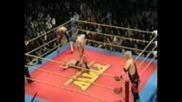 American Dragon (daniel Bryan) & Lance Cade vs. Hisakatsu Oya & Yoshinori Sasaki - Fmw 12/12/99