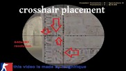 (cs 1.6 Tips and Tricks):advance awp prescoping with crosshair placement technique guide