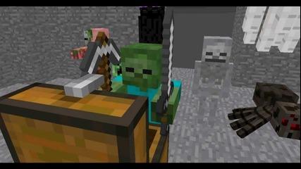 Minecraft Monster School : Combat