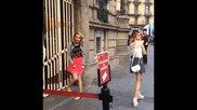 Primeras Fotos; Violetta 3, Barcelona.