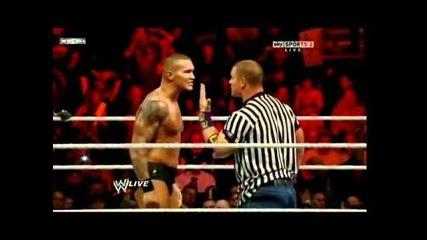 Randy Orton & R-truth vs. Wade Barrett & David Otunga (special guest referee John Cena)