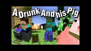 """A Drunk and his Pig """"hostage Situation"""""""