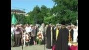 Пред паметника на Съветската армия 22.06.2011