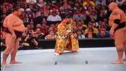Wwe - Big Show vs Ikidoko в сумо мач