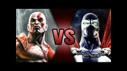 Kratos Vs Spawn | Death Battle! | Screwattack!
