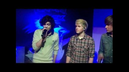 One Direction singing Forever Young at the Launch of Pokemon's Black and White Game!