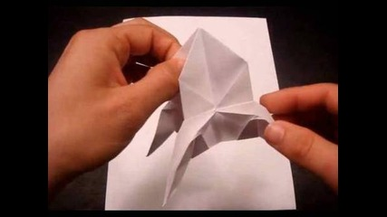 How to Make an Origami Rocket Ship