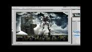 Photoshop: Transformer - Veyron / Speed Art by Ak
