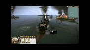 Shogun 2 Fall of the Samurai Live Commentary 4 and 5 Naval Battles Ironclads