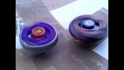 Beyblade Earth Eagle 145wd vs L Drago Destroy F S