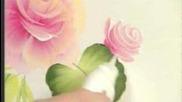 Ето как се рисува цвете с акрил
