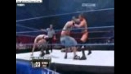 Wwe Braging rights 2009 john cena vs randy orton iron man match