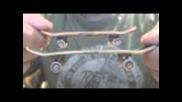 Tech Deck Wooden Series Fingerboard Review!!!