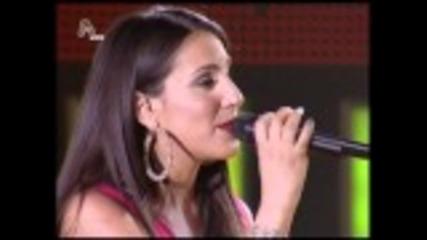 Antwnis Vardis - Malou Kuriakopoulou - Eisai Mia Rock Balada ( Greek Idol Live)