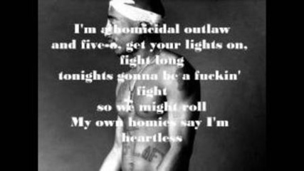 2pac - Heartz Of Men (lyrics) Hd