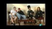 Interview-tokio Hotel (bill tries to speak spanish ((sun))~)