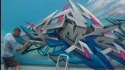 Astek Graffiti wall