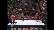 The Rock vs Chris Benoit vs Undertaker vs Kane