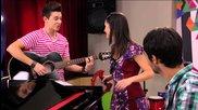 Violetta: Luca, Francesca y Federico cantan Ven y canta en italiano