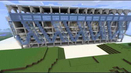 minecraft stadium Георги Аспарухов част 2