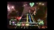 Нервен Германец свири на Guitar Hero 3