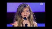 """Caroline Costa изпълнява песента """"hurt"""" на Кристина Агилера"""