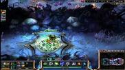 League of Legends 3vs3 Ranked Maokai,talon and Teemo