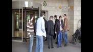 Домусчиев пристигна в Турция с брандиран бус