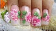 Как да си направим розови на 3d акрилни рози