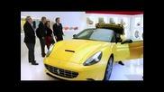 Ferrari Sa Aperta 599 Roadster and Ferrari California with Hele system in Paris